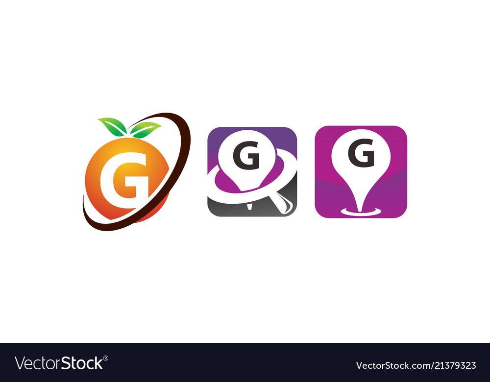 Pin location fruit g template set