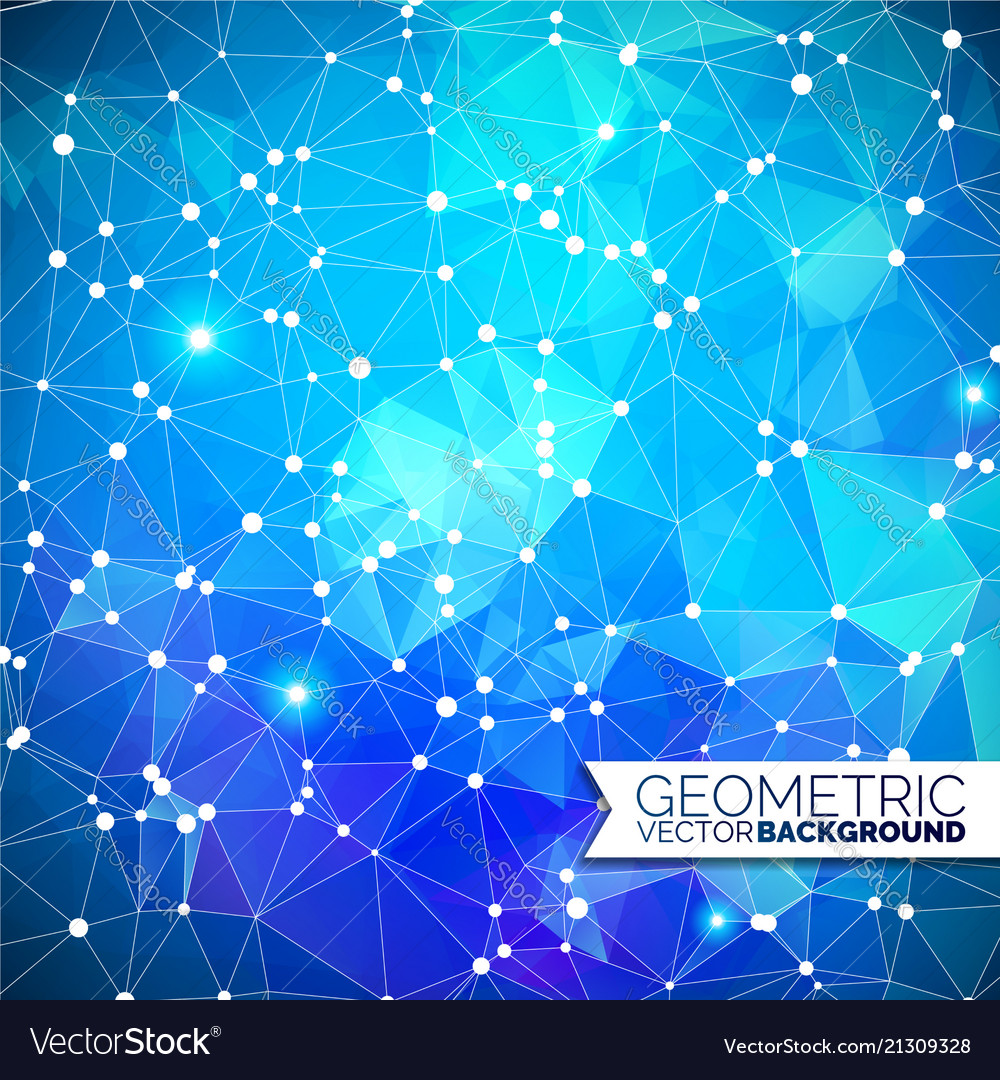 Abstract geometric background triangle design