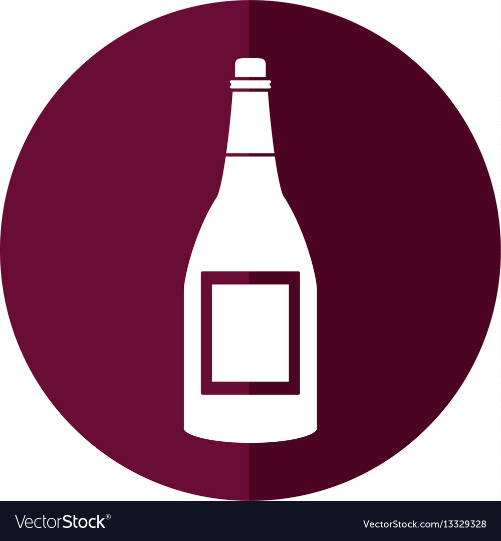 Bottle wine alcohol drink shadow