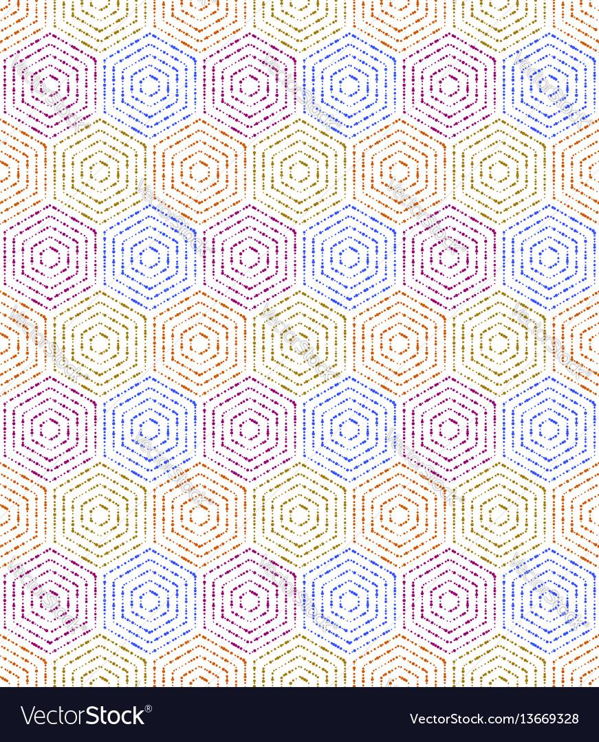 Modern seamless dotted pattern