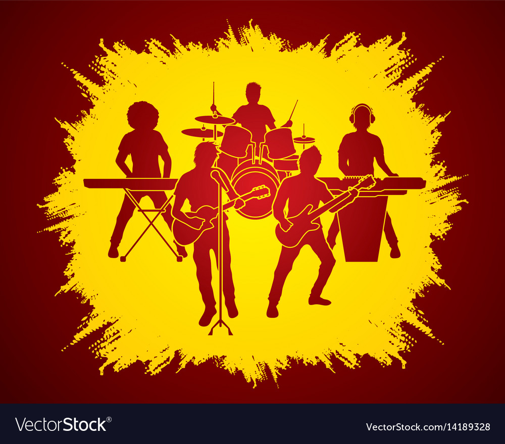 Music bands graphic