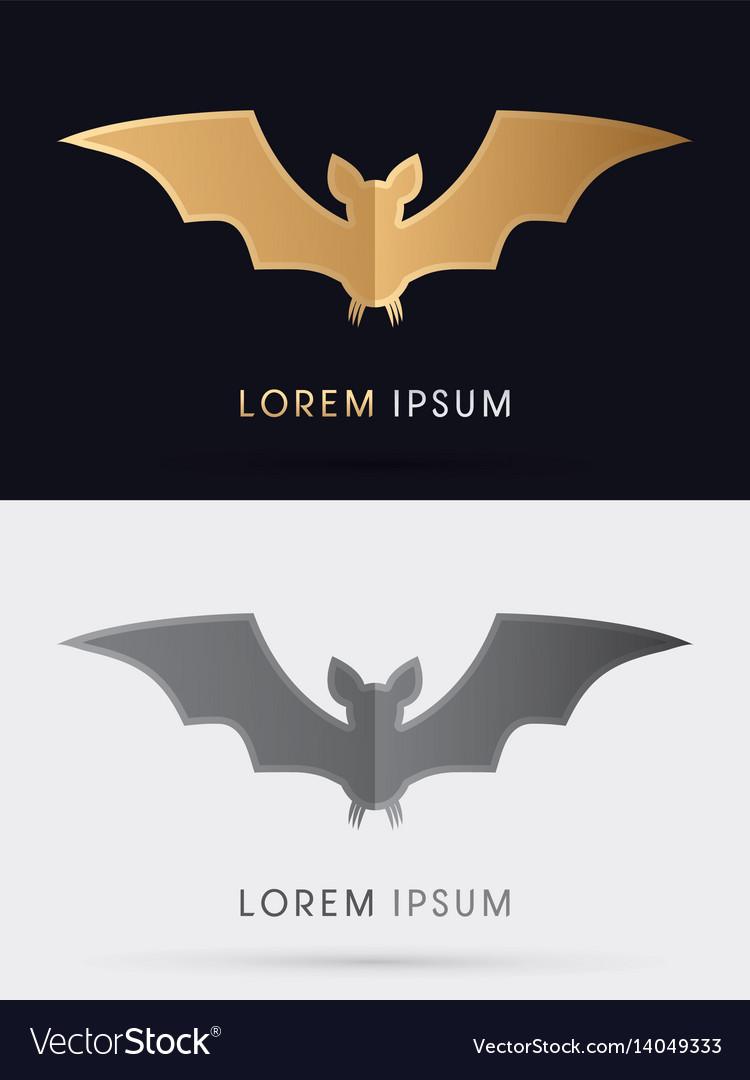 Bat fly vector image