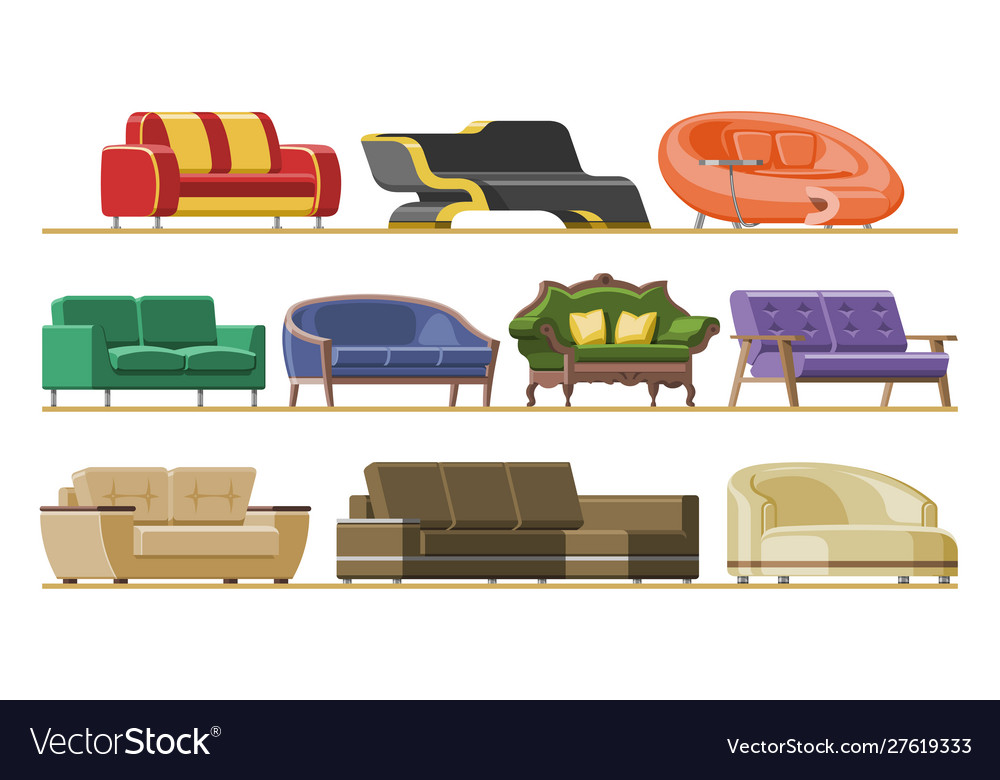 Sofa modern furniture couch seat furnished