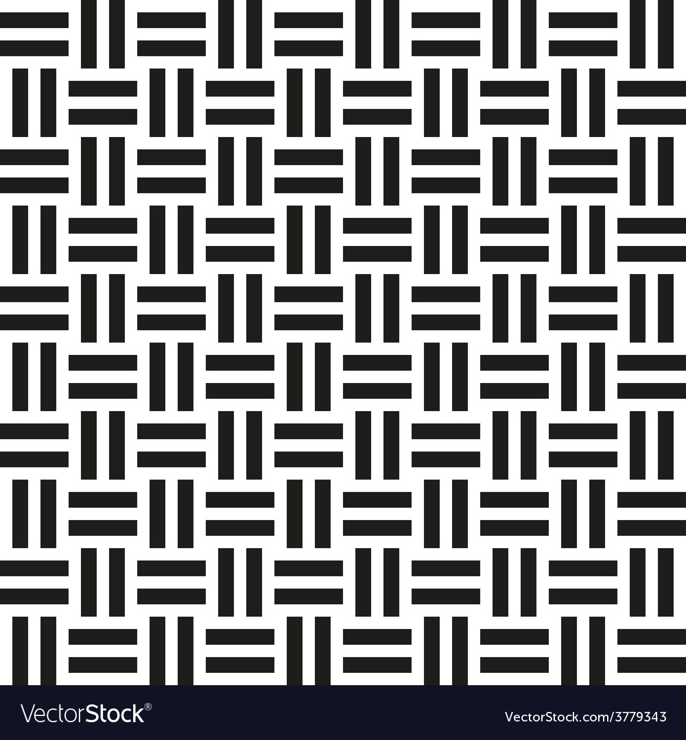 Abstract wicker seamless pattern