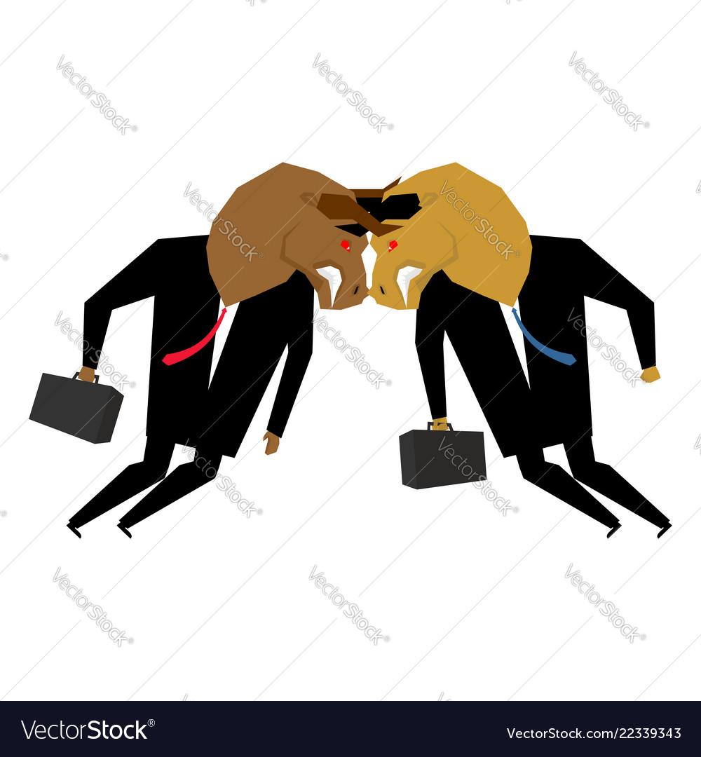 Bullfighting businessman business negotiations