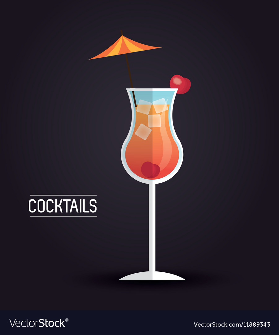Drink menu cocktail restaurant bar design