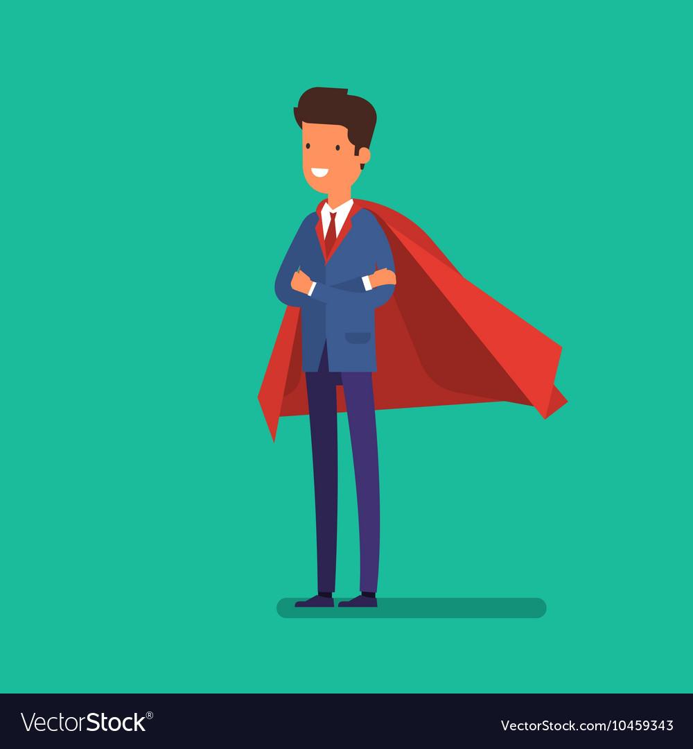 Super Businessman Business concept