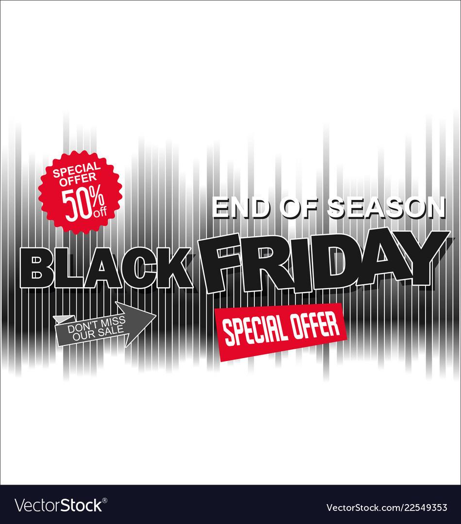 Big sale and super offer black friday background