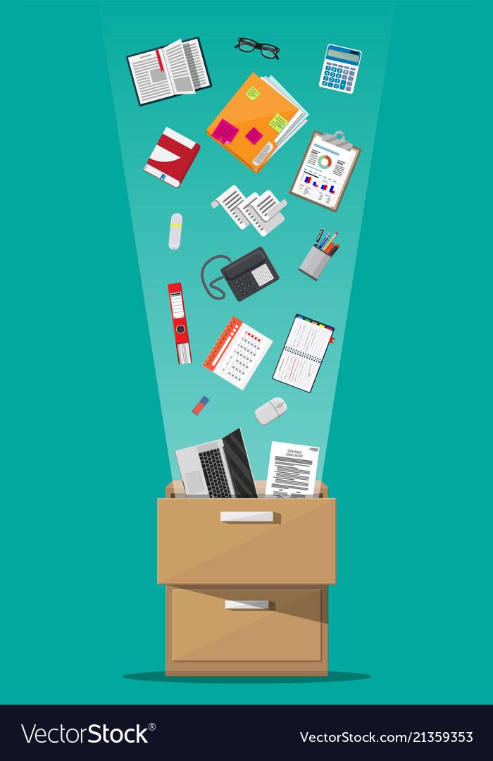 Office furniture cabinet locker drawer
