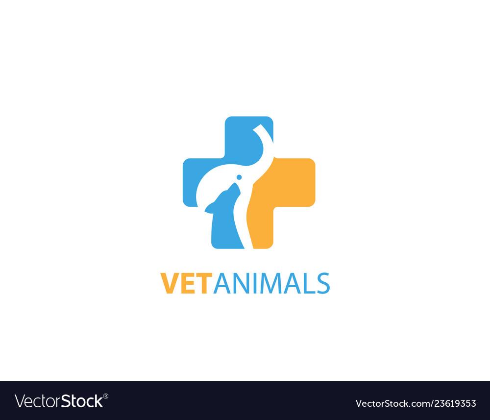 Vet animals logo