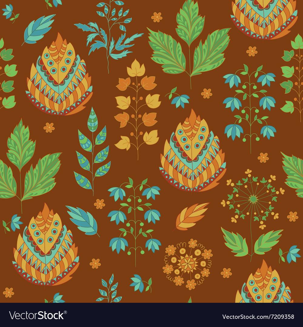 Abstract Autumn Seamless Pattern