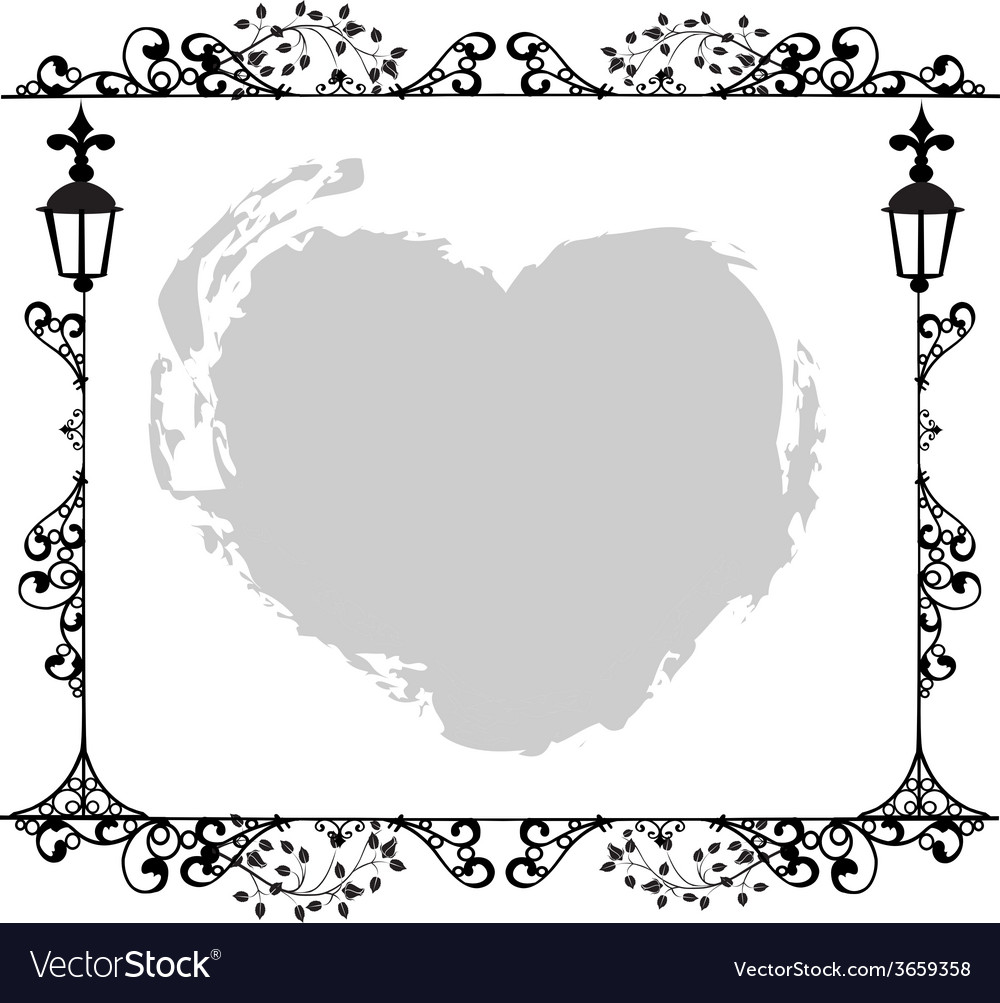 Antique Frame ornaments Royalty Free Vector Image