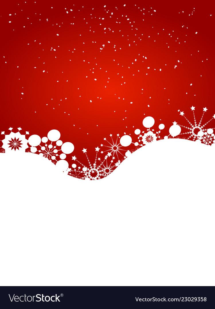 Christmas Winter Festive Background