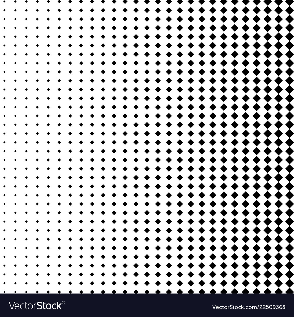 Halftone dots background in the form of squares