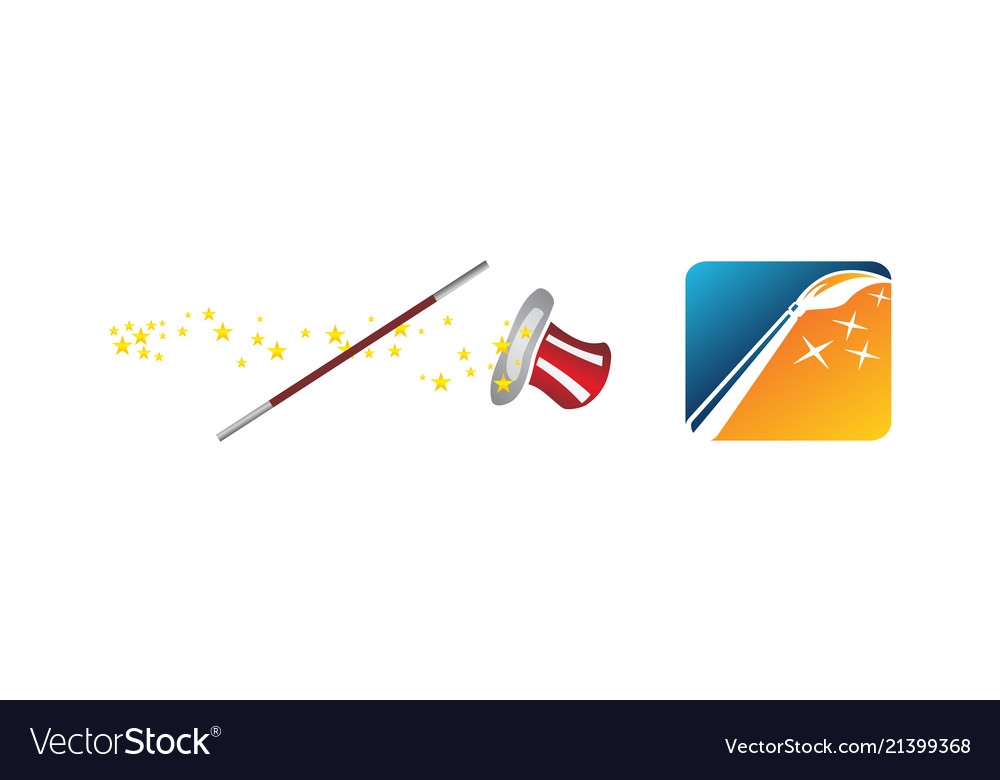 Magic wand hat set