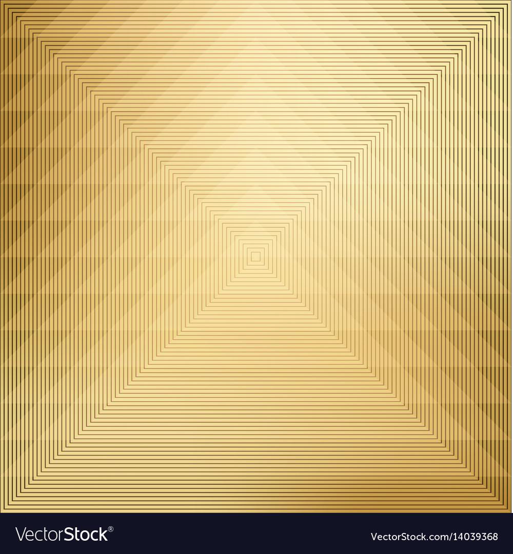 Pattern geometric on gold background