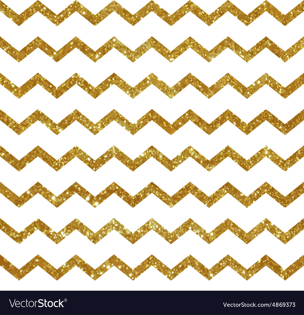 Seamless pattern with golden stripes vector image