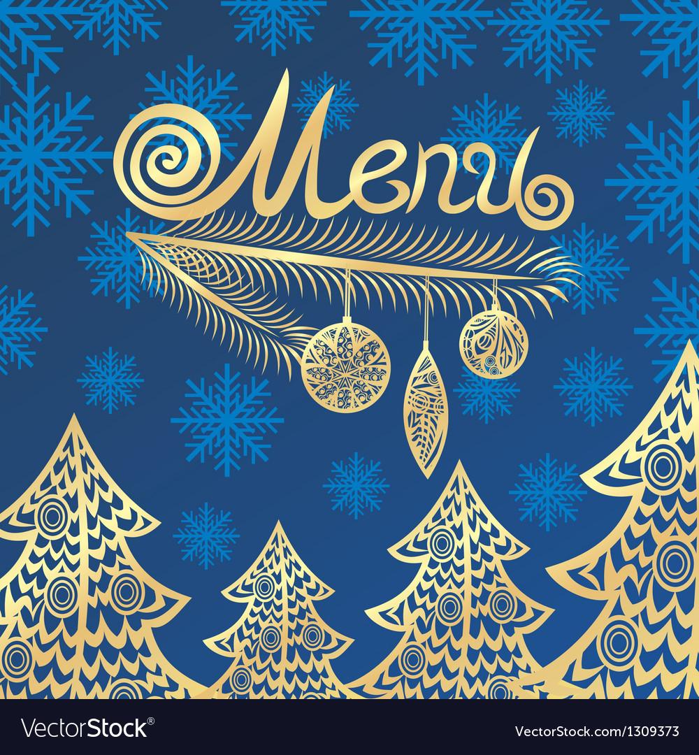 Winter menu