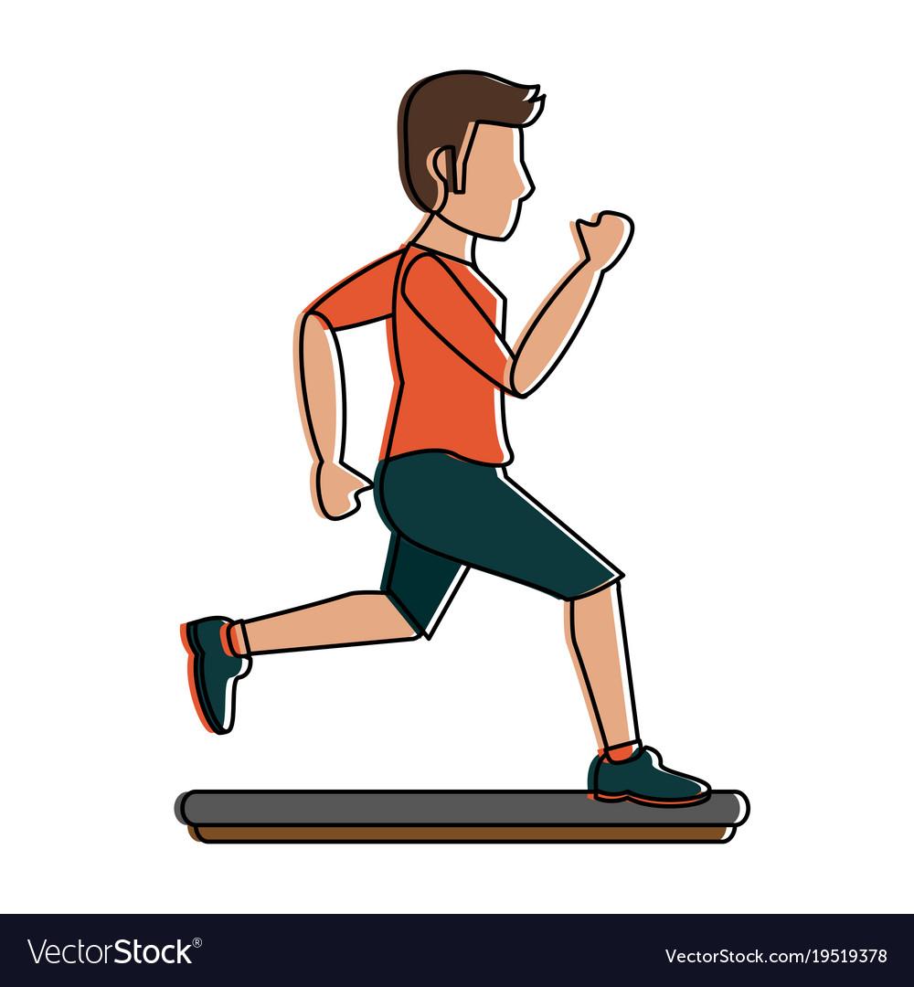 Running Cartoon Man GIFs | Tenor