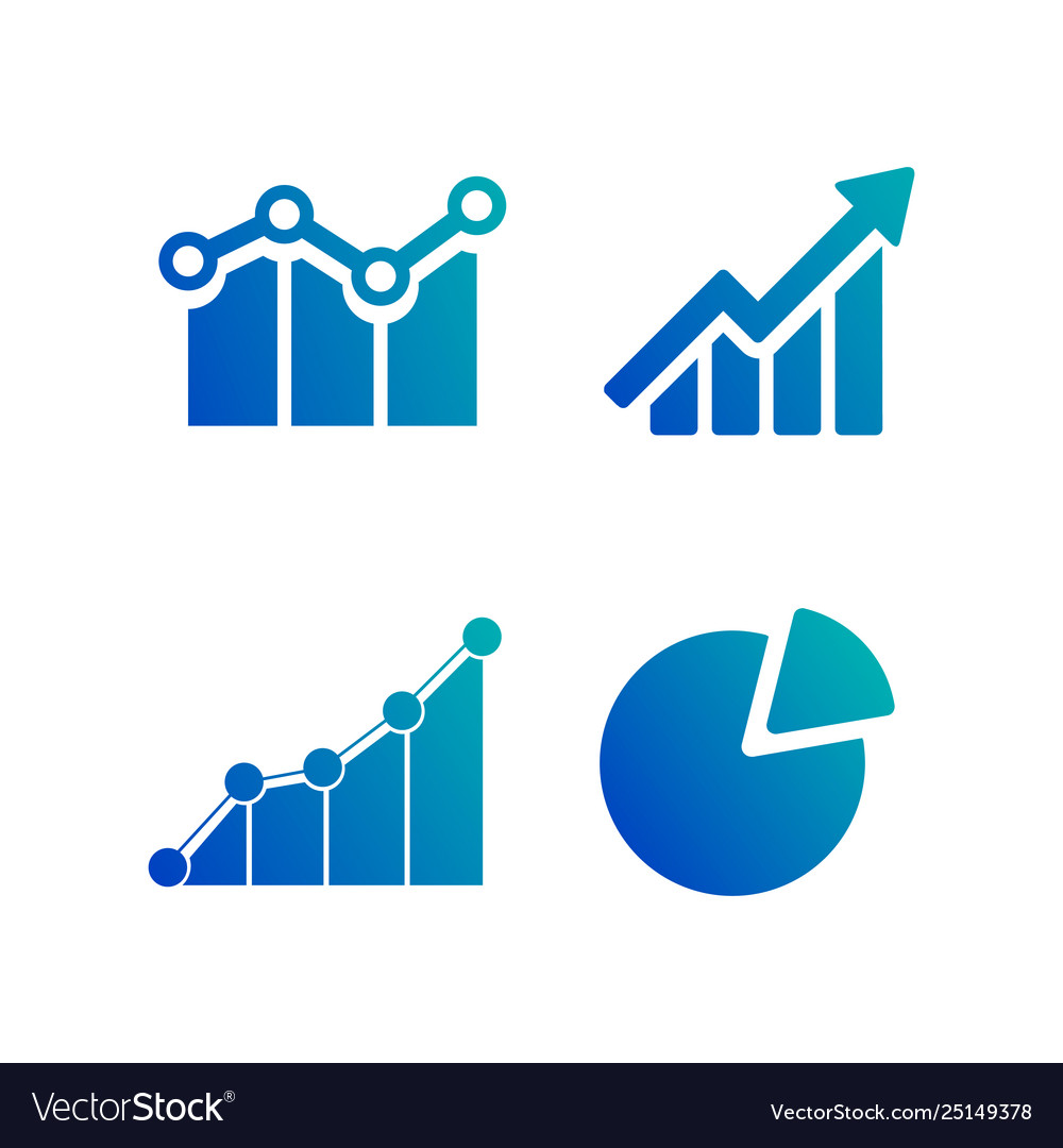 Simple set diagram and graphs business related