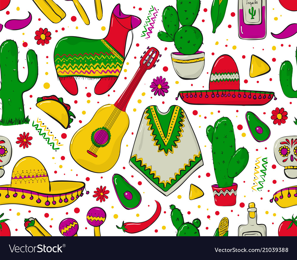 Feesta and latin american festivals seamless