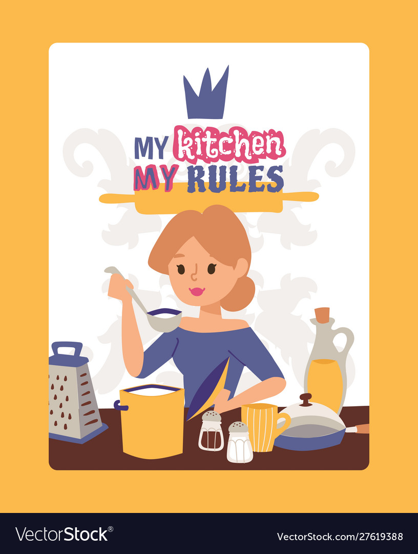 Inspirational poster for kitchen