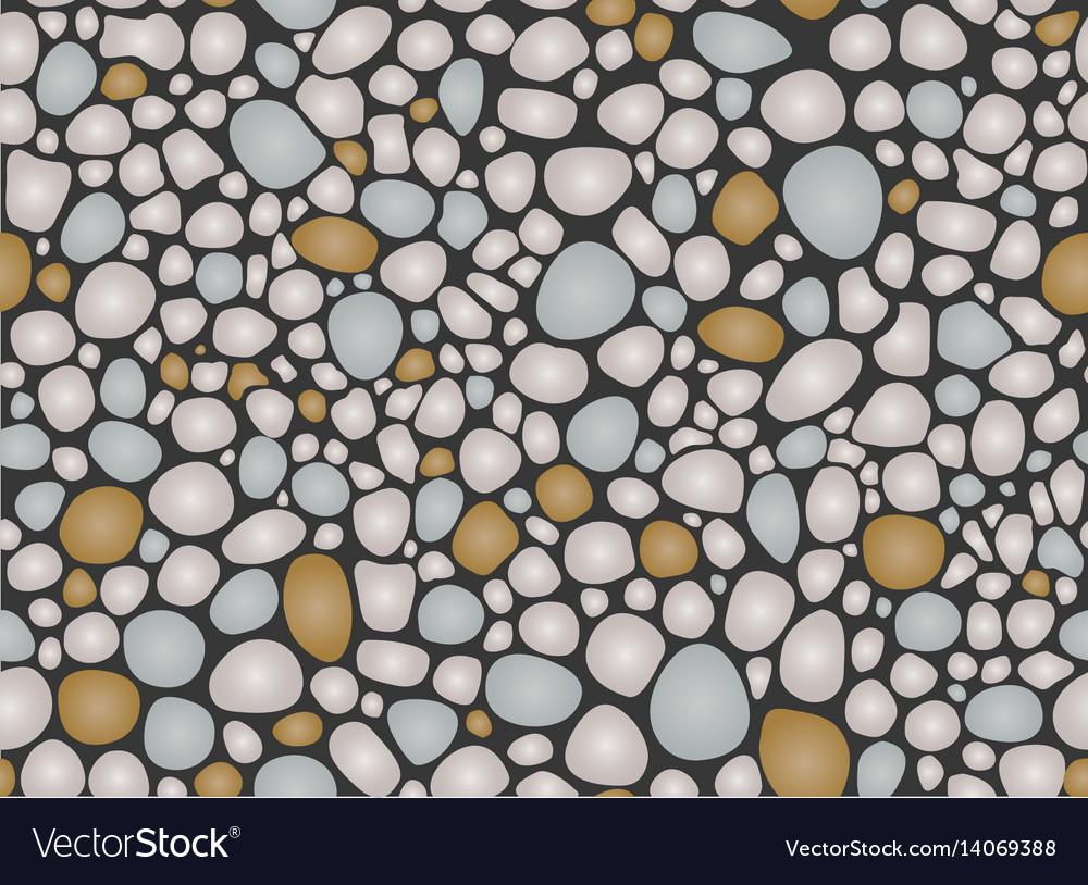 Pebbles pattern seamless