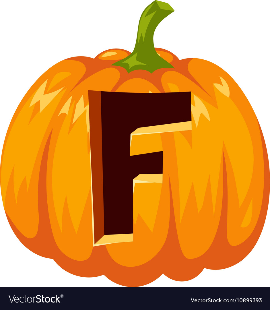 Halloween font alphabet
