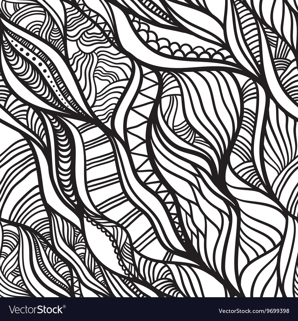Abstract vawes pattern