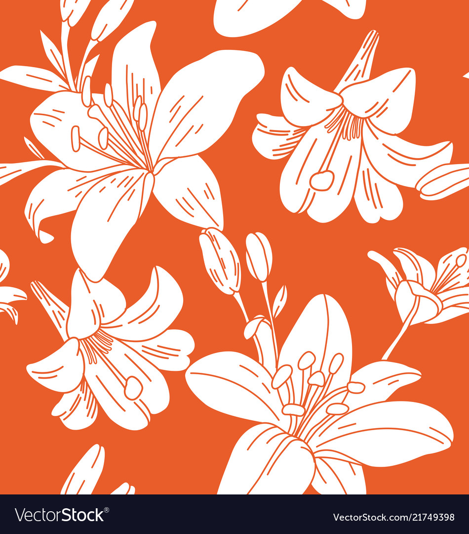 Floral seamless pattern4