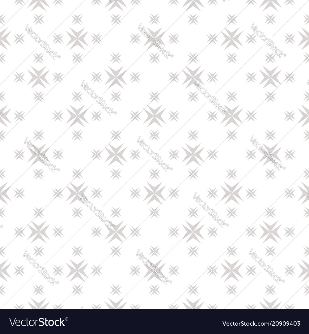 Ornamental seamless pattern with cross shapes