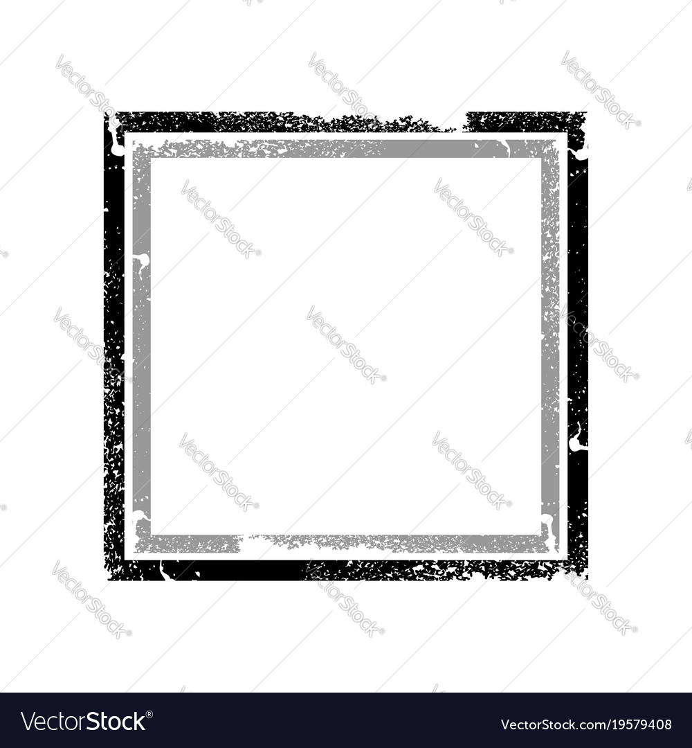 Distressed black and grey frame graphic Royalty Free Vector