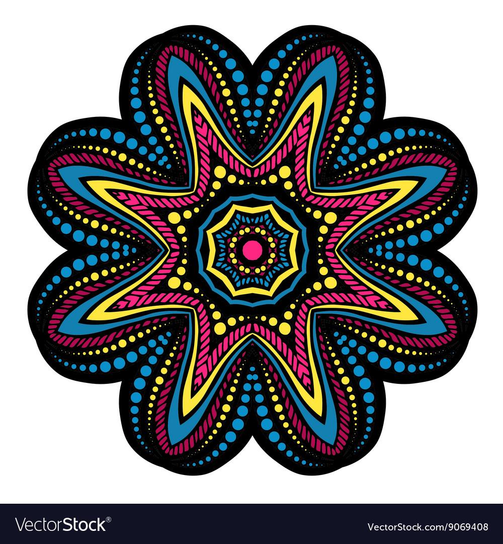 Mandala tribal ethnic ornament