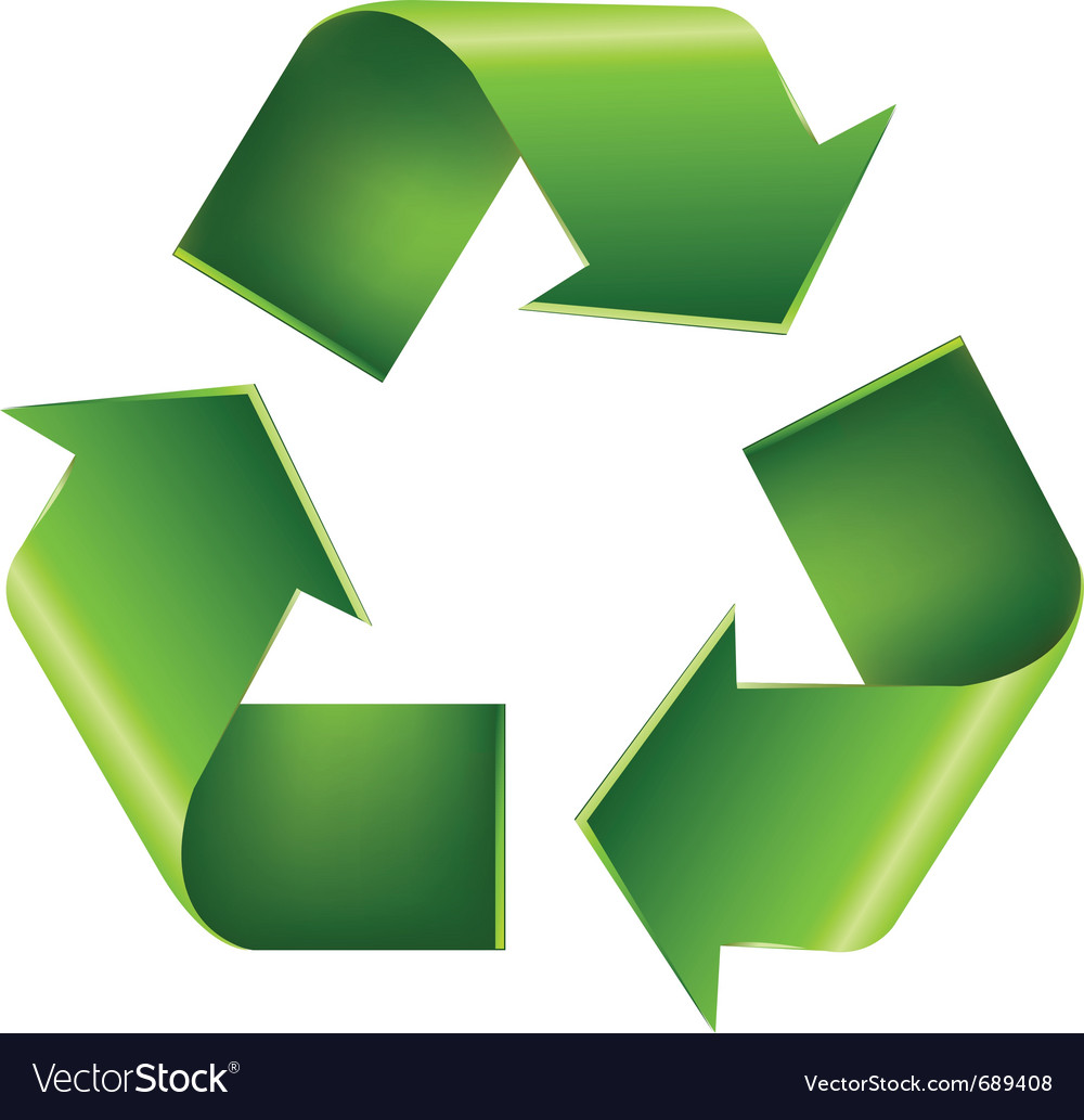 File:Recycling symbol3D.svg - Wikimedia Commons |Recycle Symbol