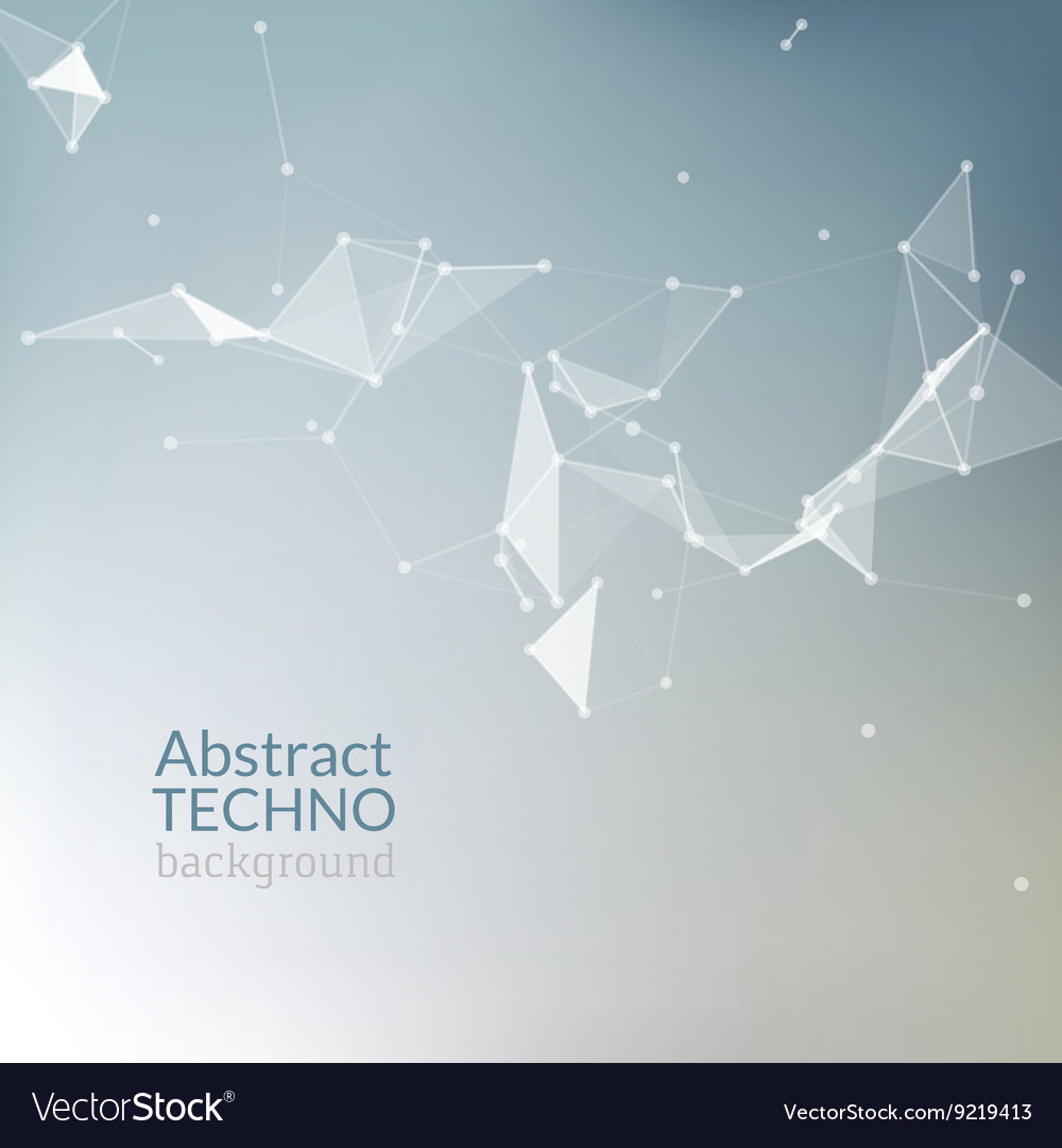 Abstract background Futuristic style card