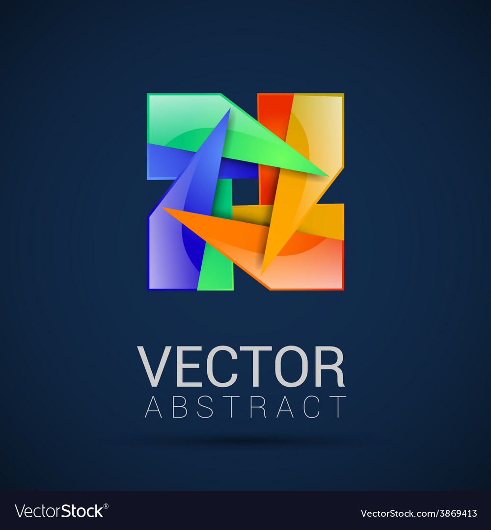 Abstract logo design template abstract