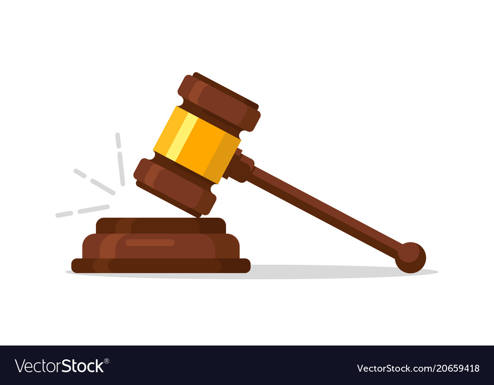 Judge wood hammer auction judgment wooden judge