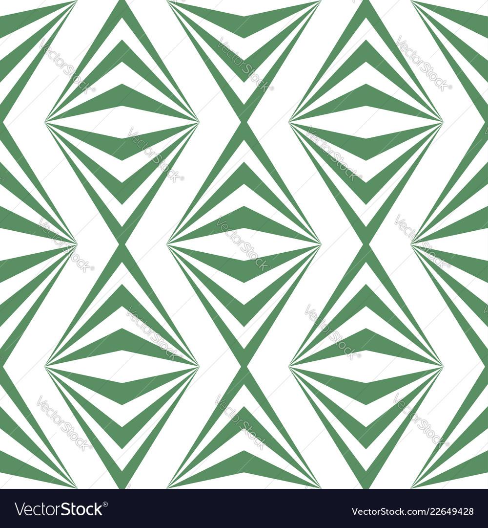 Art abstract geometric light white green pattern