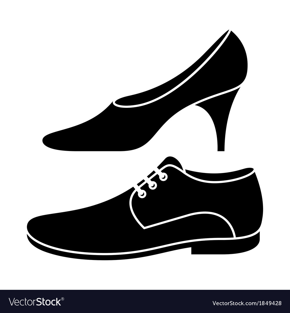 women and men shoe royalty free vector image vectorstock rh vectorstock com vector shop victor shop