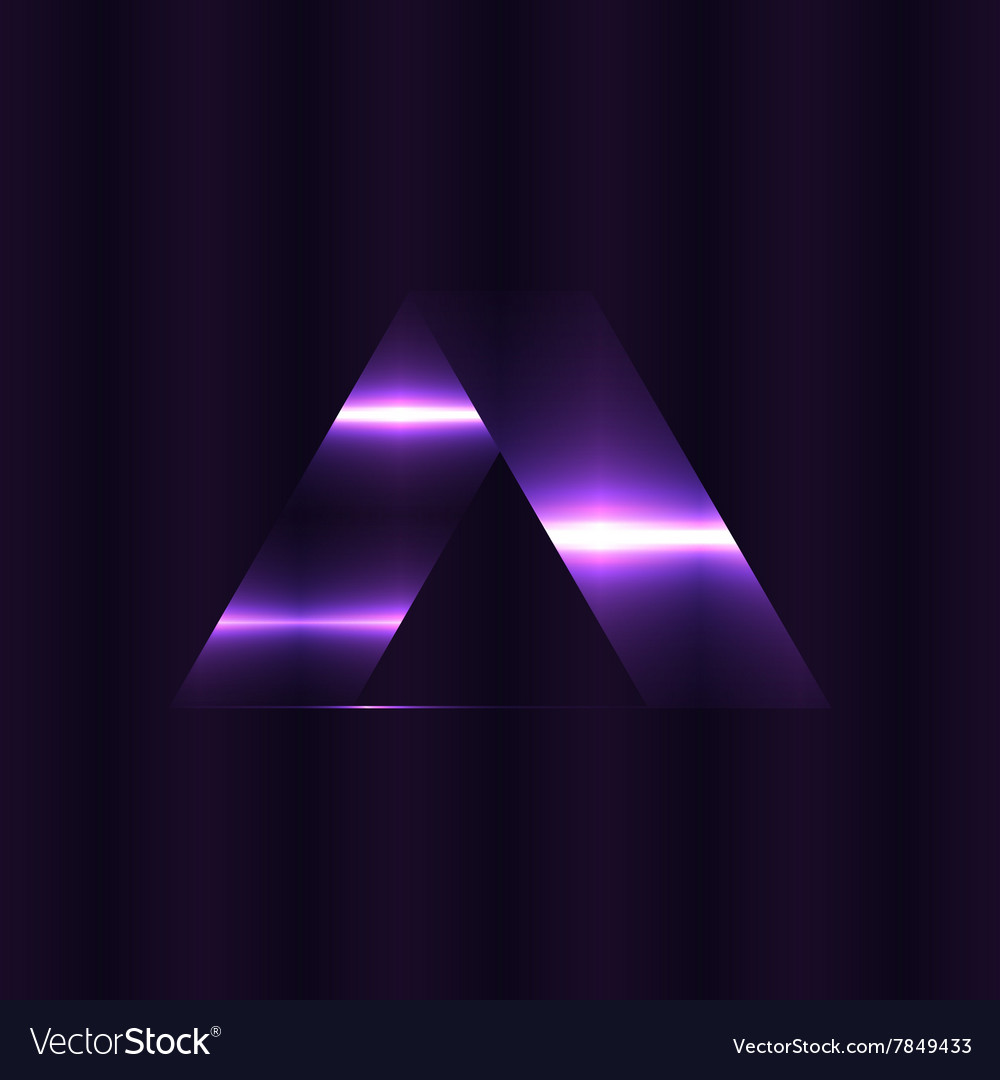 Abstract triangles space low poly Dark background