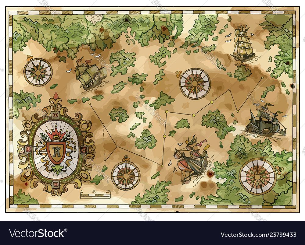 Pirate map 9