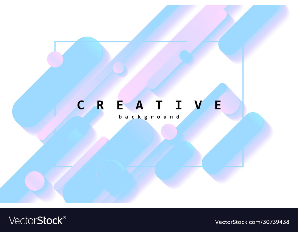 Creative flow shapes