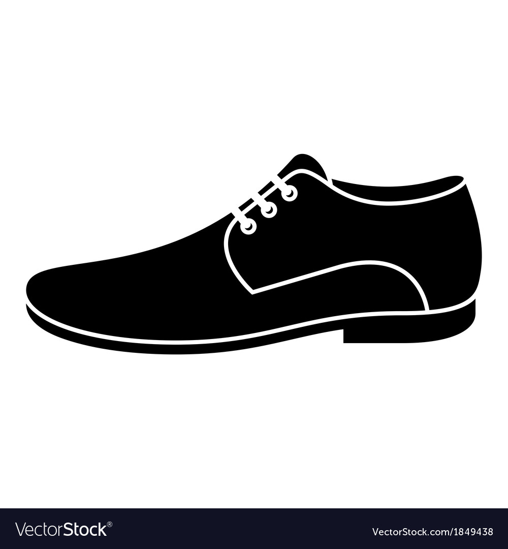 men shoe royalty free vector image vectorstock rh vectorstock com victor shoes for women victor shoe store