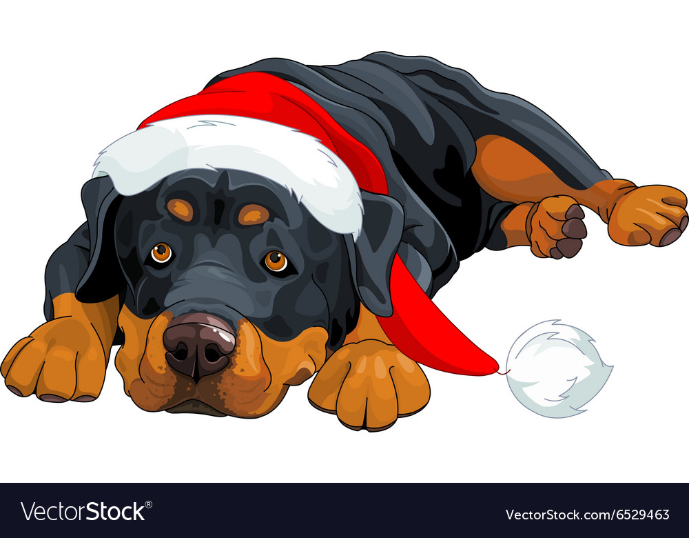 Rottweiler & Funny Vector Images (52)