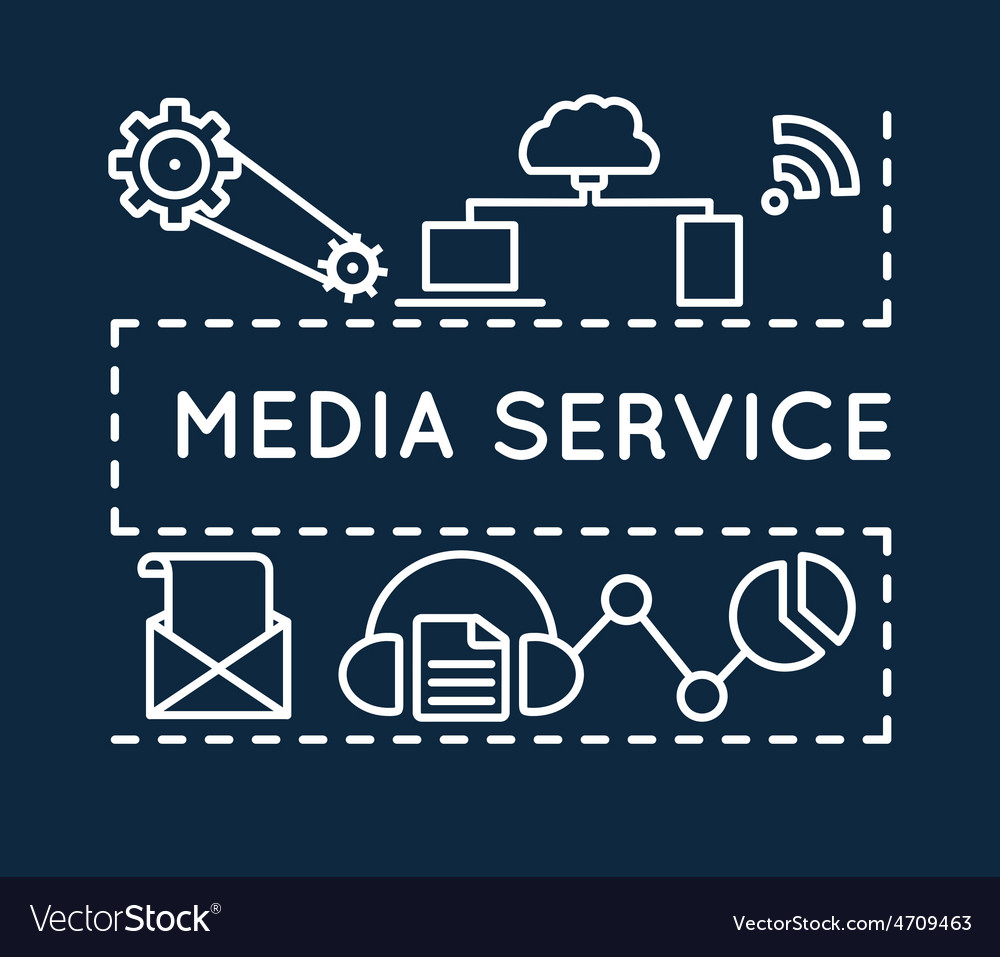 Concept of media service Linear style