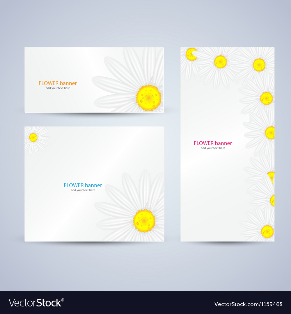 Flowers brochure template