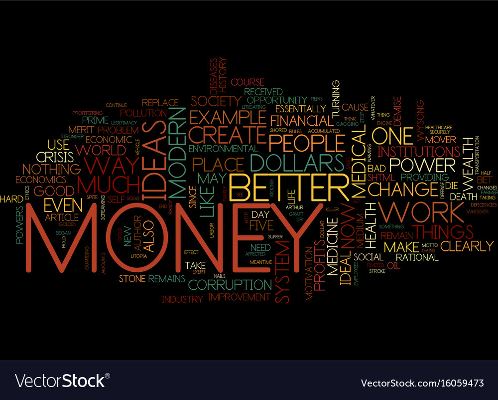 The prime mover text background word cloud concept vector image