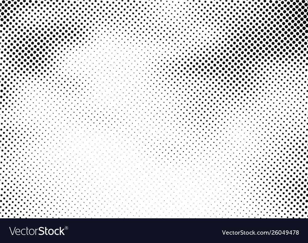 Abstract halftone background and grunge texture