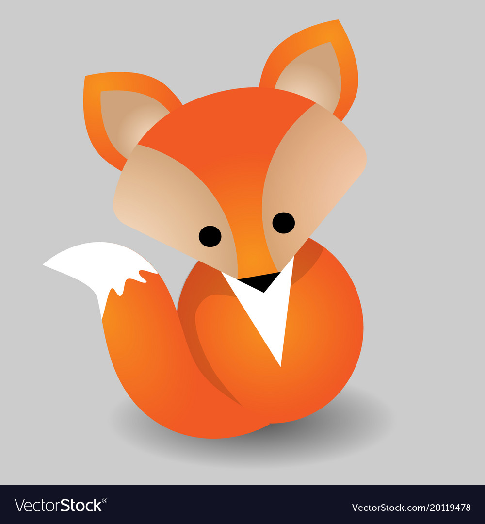 Image of a fox design