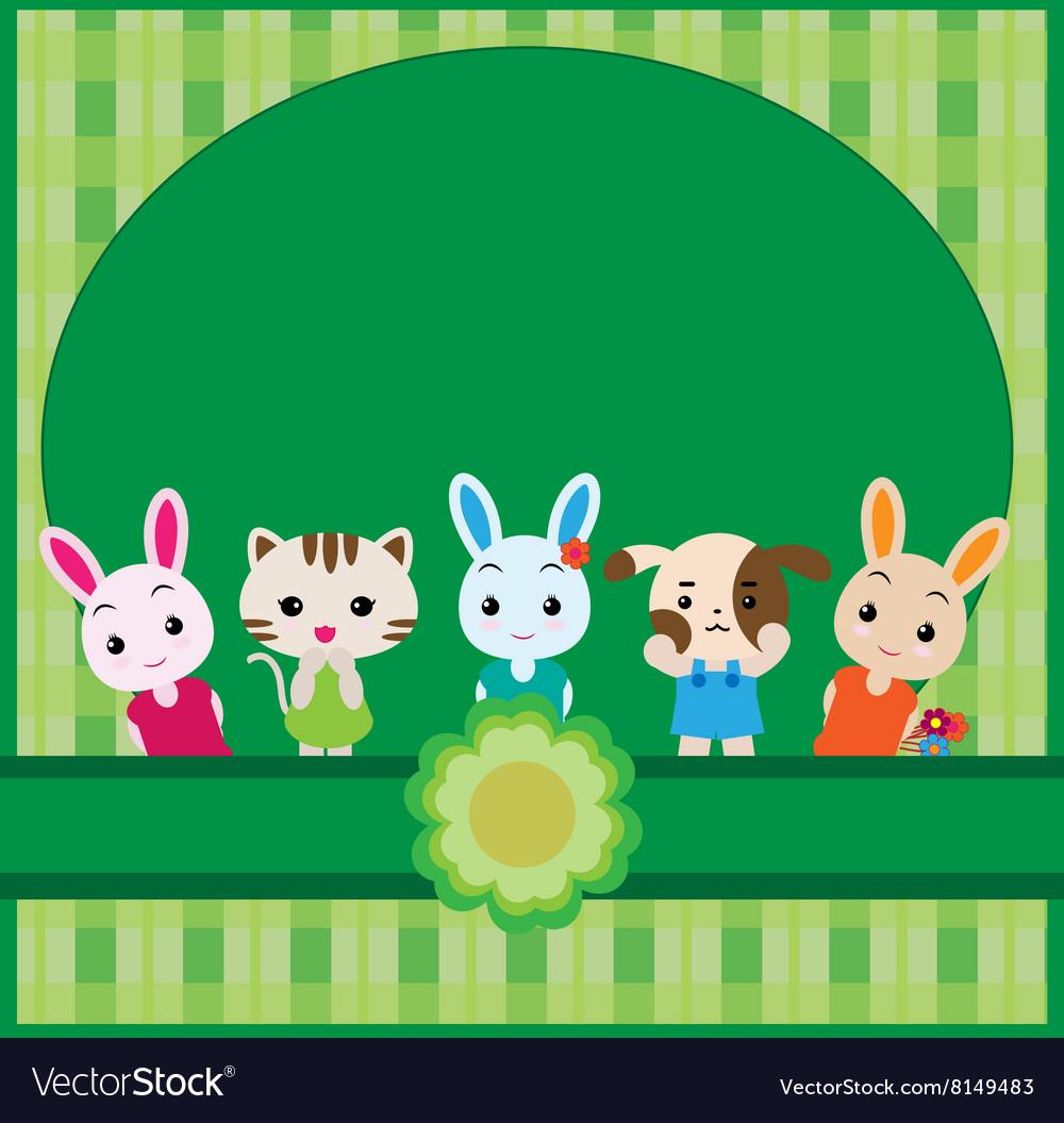 Cute pet background